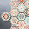 10 PCS HEXAGON SELF-ADHESIVE NON-SLIP BATHROOM KITCHEN FLOOR WALL TILE STICKER