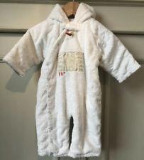 MAMAS AND PAPAS Cream Girls Boys Baby grow Sleep/snow suit Age 0-3 M