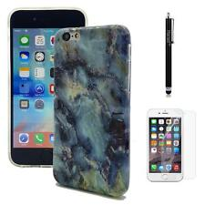Soft Marble Stone TPU Slim Case Cover For iPhone 4 5C 5S SE 6 6Plus 6S 6SPlus