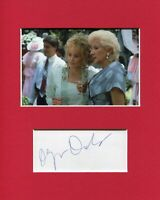 Olympia Dukakis Steel Magnolias Signed Autograph Photo Display With Dolly Parton