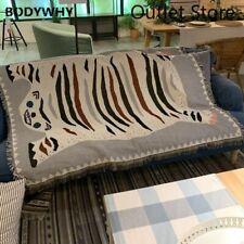 Bohemian Tapestry Decorative Sofa Slipcover Knitted Thread Throw Tatami Blanket