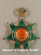 Türkei: Medjidjie Osmani Orden Grosskreuz / Komturkreuz, Silber vergoldet