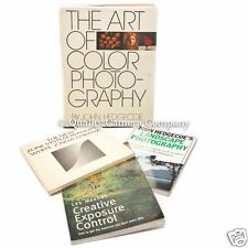 4 CLASSIC PHOTOGRAPHY BOOKS TO UP YOUR GAME - CREATIVITY CONTROL KNOWLEDGE - EX!