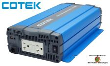 Cotek SP1000-212 1000 Watt 12 Volt Pure Sine Wave Inverter EN Certified