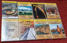 8 DVDs in Polish NATIONAL GEOGRAPHIC Poszukiwacze Skarbow Polsku PL Lot Poland