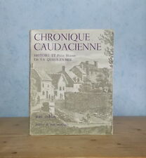 VAL-DE-MARNE NOGENT CHRONIQUE CAUDACIENNE HISTOIRE LA QUEUE-EN-BRIE (J. ROBLIN).