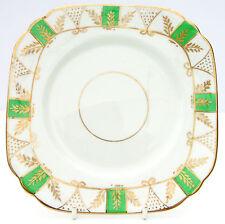 Vintage Antique J H Cope Wellington ART DECO porcelaine thé plaque