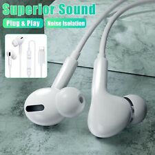 Wired Bluetooth Earphones Headphones Headset For iPhone 11 Pro SE2 X XR 8 7 Plus