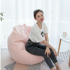 Kids/ Adult Inner Bean Bag Gaming Chair Cover Living Room Outdoor Garden Seating