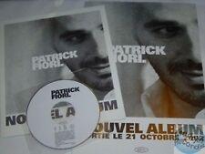 PATRICK FIORI 2002 CD PRESSKIT PROMO