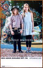 JUSTIN TOWNES EARLE Single Mothers 2014 Ltd Ed RARE Poster+FREE Folk Rock Poster