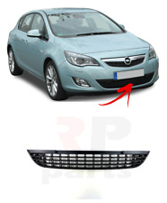 FOR OPEL VAUXHALL ASTRA J  2009 - 2012 FRONT BUMPER LOWER CENTER GRILLE BLACK