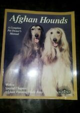 Afghan Hounds - Barron's Publication - 1997