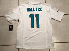 NWT NIKE Miami Dolphins Mike Wallace WHITE NFL Jersey Men's Medium MSRP $100