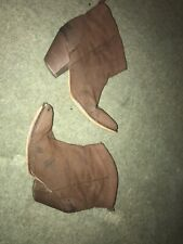 Brown Cowboy Boots Size 5