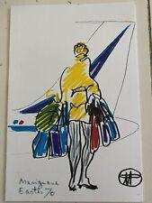 Vintage Air France Menu - New York to Paris - Florent Margaritis Design