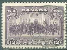Canada 1935 - 13¢ Violet Charlottetown Conference Sc#224