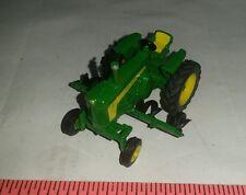 1/64 ERTL custom John deere 730 wf tractor w/ mtd row crop cultivator farm toy