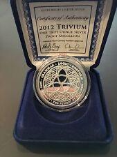COA #229 SBSS Trivium Proof 1 oz .999 fine silver Bullet Shield Duane Rare Round