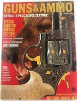 Vintage GUNS & AMMO Magazine July 1966 Handgun Hunting Special