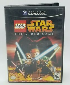 LEGO Star Wars: The Video Game (Nintendo GameCube, 2006) CASE & GAME!