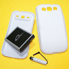 Double Layer Extended Battery Cover Case Stylus For Samsung Galaxy S3 L710 I9300