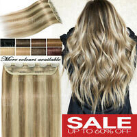 US One Piece Clip in 100% Human Remy Hair Extensions 3/4Full Head Highlight P279