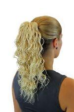 Postiche / Tresses avec Ondulations 40 Cm Épingle à Cheveux-Papillon