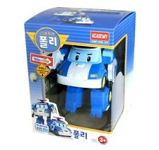 Academy Korea 3D Animation Cartoon Robocar Poli Transforming Police Robot Toy