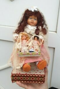 poupée ancienne  : superbe automate petitcollin la marchande de poupées