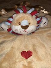 Baby Ganz Lovey Security Blanket Ruffles Lion Mini Blanket