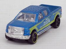 """FORD f-150 in blu metallizzato """"HOT WHEELS Gas Company"""", senza imballaggio originale, Hot Wheels, 1:64"""