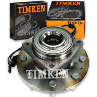 For Chevy Silverado 2500 HD 11-16 Timken SP620303 Front Wheel Bearing Hub