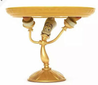 2021 Disney Beauty and the Beast Lumiere Cake Stand Ceramic Serving Platter