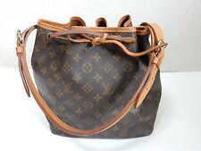 Auth Louis Vuitton Monogram Petit Noe Shoulder Bag Browns FS Pre-Owned