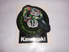 TOM SYKES , KAWASAKI WORLD SUPERBIKE CHAMPION 2013 STICKER