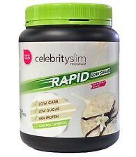 => Celebrity Slim Rapid Weight Loss Low Sugar Vanilla Flavour (21 Serves) 672G