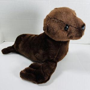 Aurora DESTINATION NATION BROWN SEAL SEA LION Stuffed Animal PLUSH SOFT TOY Cute
