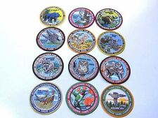 Pennsylvania Game Commission Patches 1993-2002,2006,2008 lot of 12