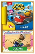 SUPER WINGS LIBROGIOCO LE AZIONI GIOCO EDUCATIVO BAMBINI 3-6 ANNI LISCIANI