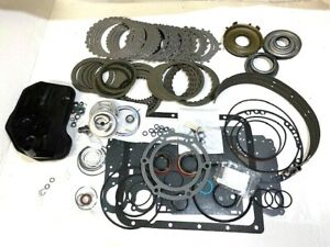 4l60E Master Rebuild Kit (97-03)w/ steels,band,filter,Hi energy frictions & more