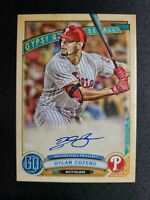 J80 Dylan Cozens AUTO 2019 Topps Gypsy Queen Autograph Philadelphia Phillies