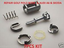 VW GOLF MK4 BORA & AUDI Door Lock Cylinder Repair Kit Font Right /Left Side 7PCS