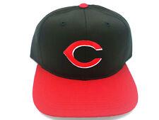 Cincinnati Reds Hat Vintage Snapback Flat Bill Adult Cotton Twill