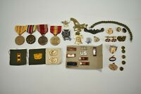 Warrant Officer Insignia Medal Patch Lot Cufflinks Pins US Army Navy VFW