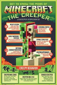 Minecraft Creeper - Poster 61x91,5 cm