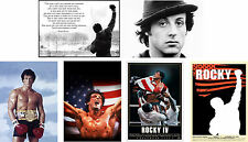 Classic Rocky Balboa Poster Sylvester Stallone Print Buy 1 get 2 FREE