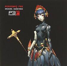 Sound Track CD PERSONA 3 FES Japan