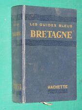 Guide bleu Bretagne 1953