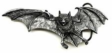 Vampire Bat Belt Buckle Dark Gothic Skull Death Theme Authentic Bergamot Product